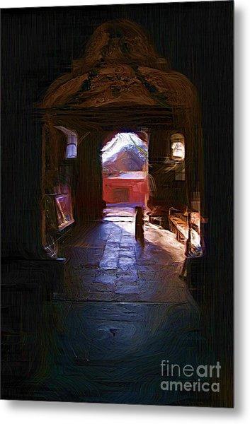 Entrance To The Church Of Atotonilco Metal Print