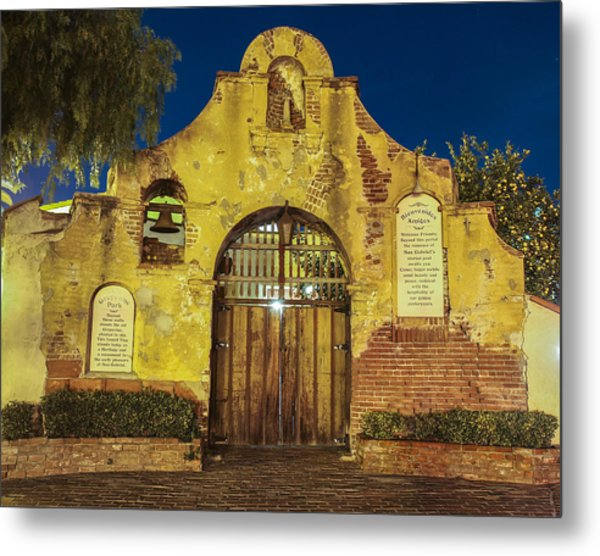 Entrance To The Vineyard Metal Print