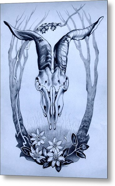 Epilogue Metal Print by Patricia Howitt
