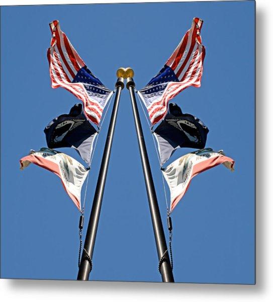Equal Flag Spirit 2013 Metal Print