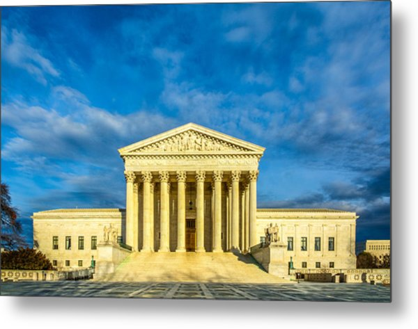 Equal Justice Under Law Metal Print