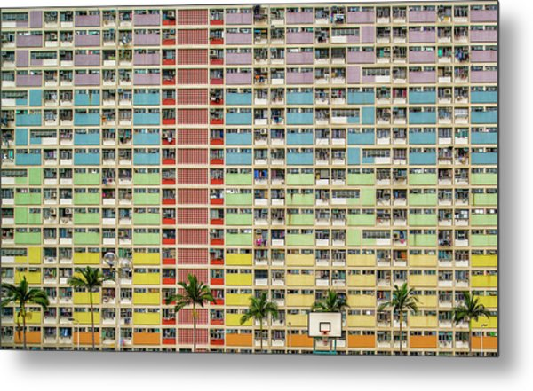 Equalizer Metal Print by Fahad Abdualhameid