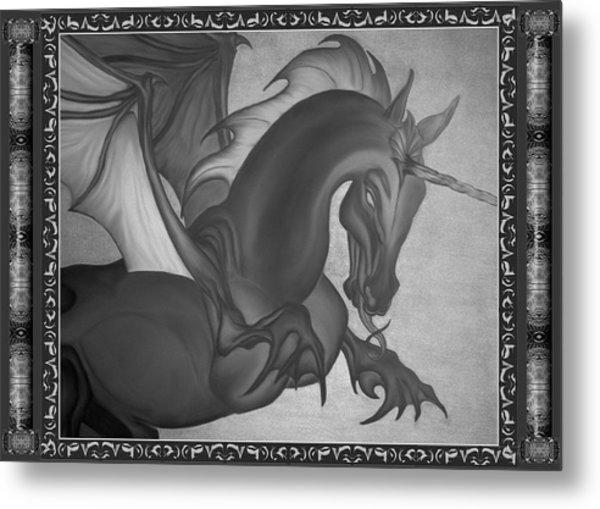 Equus Draco Unicornis Metal Print