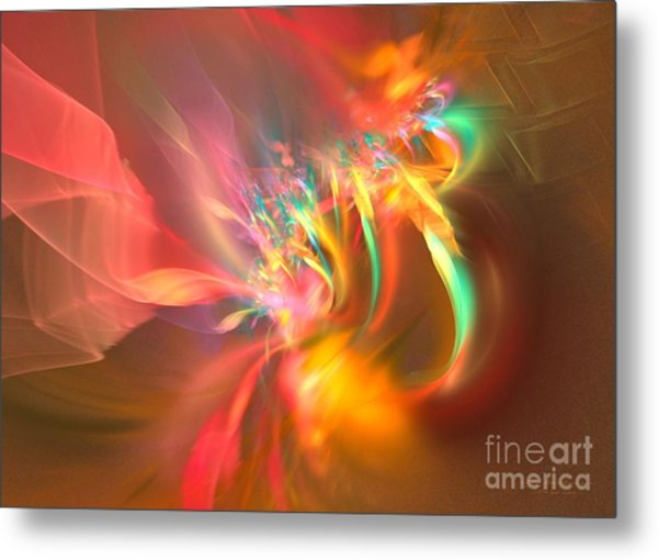 Metal Print featuring the digital art Ergo Sum by Sipo Liimatainen