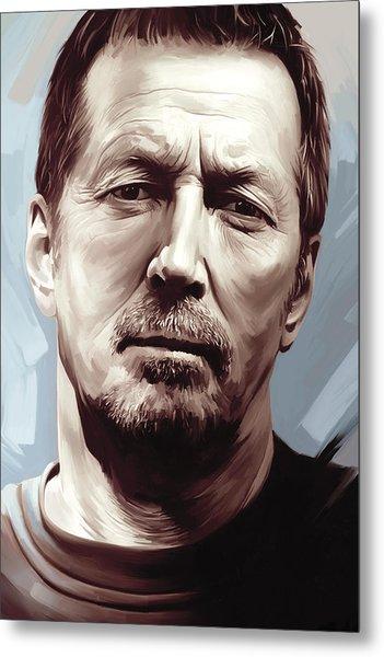 Eric Clapton Artwork Metal Print