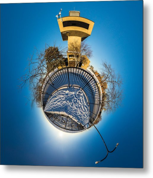 Erie Basin Marina Observation Tower Metal Print