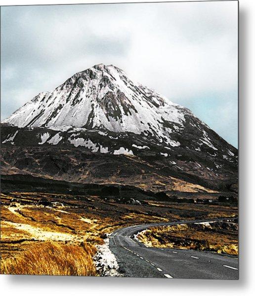 Errigal Donegal Ireland Metal Print