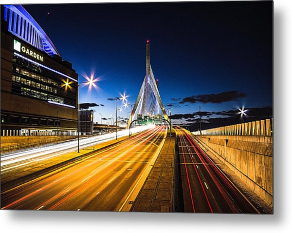 Escape To Boston Metal Print