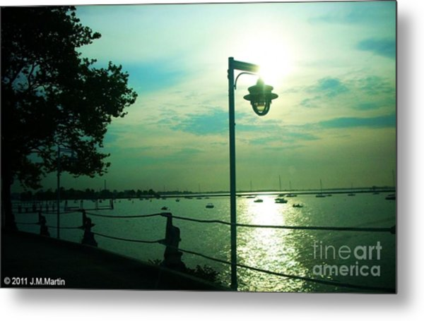 Escaping The Lamp Metal Print by Jay Martin