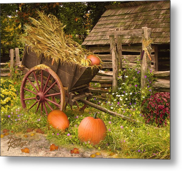 Essence Of Autumn  Metal Print