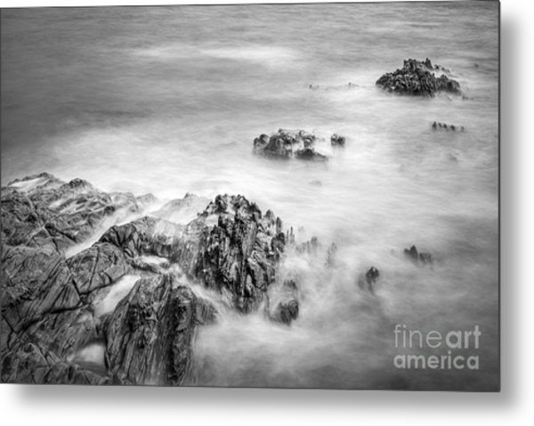 Estacas Beach Galicia Spain Metal Print
