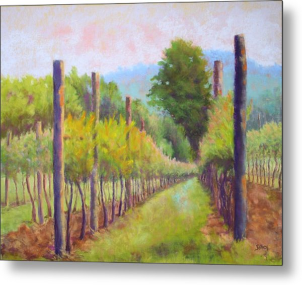 Estate Pinot Metal Print