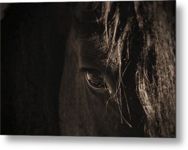 Eternal Eye Metal Print