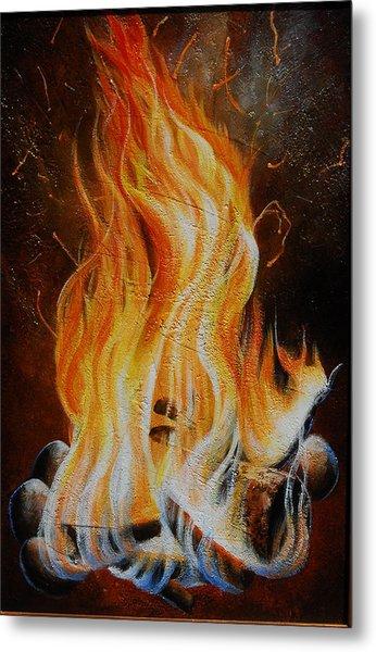 Eternal Fire Metal Print