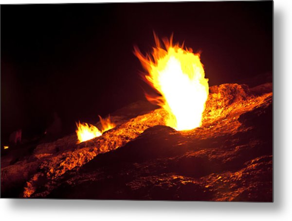Eternal Flames Metal Print