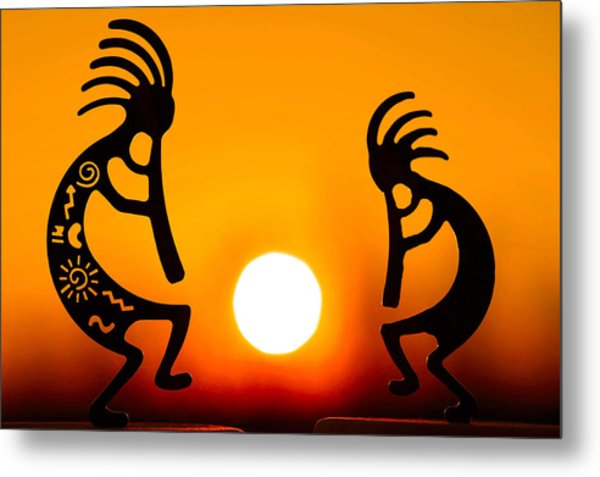 Eternity's Sunrise Metal Print