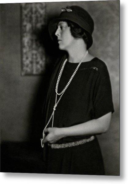 Ethel Barrymore Metal Print by Nickolas Muray