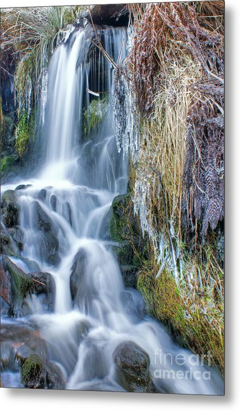 Ethereal Flow Metal Print