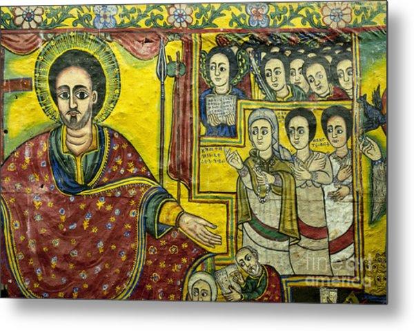 Ethiopian Church Paintings Metal Print