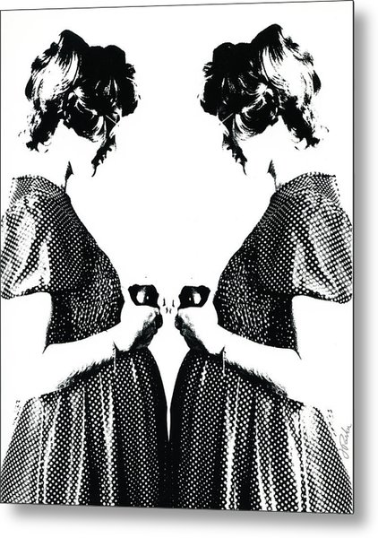 Eve Twice Metal Print