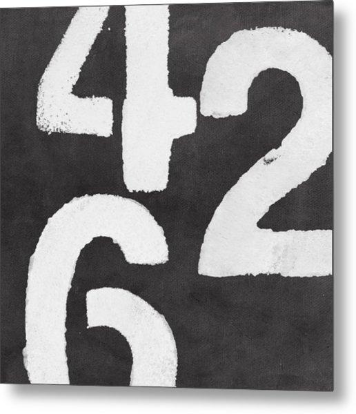 Even Numbers Metal Print