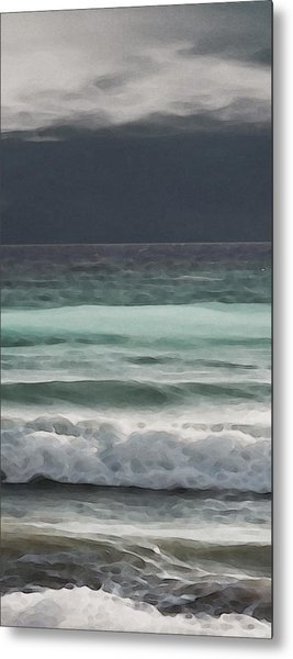 Even Tides Metal Print