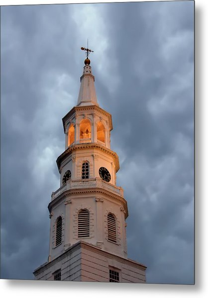 Even Within The Storm There Is Light Metal Print