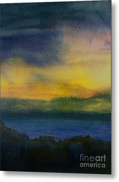 Evening Approaching 1 Metal Print by Gwen Nichols