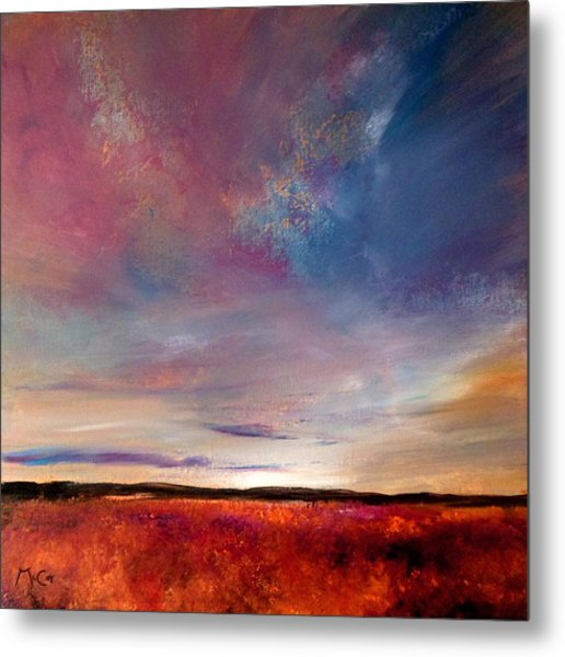Evening Colours Metal Print