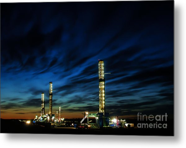 Evening Glory 2 Metal Print