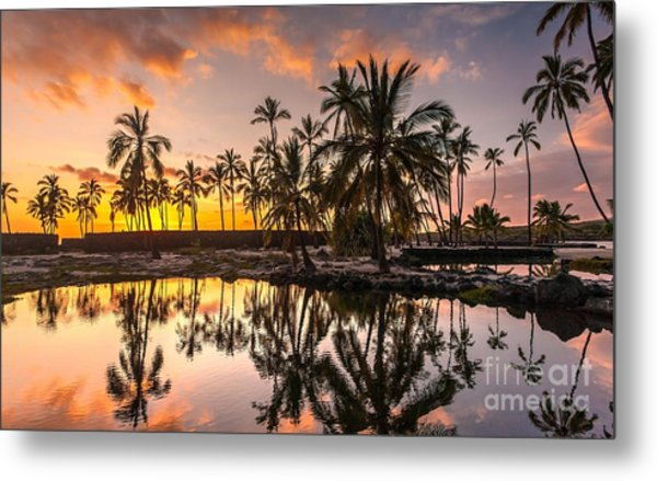 Evening In Paradise Metal Print