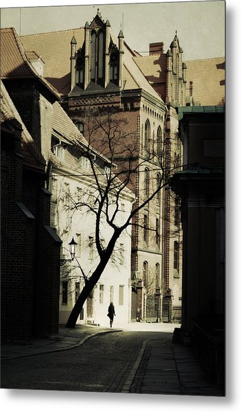 Evening In Wroclaw Metal Print