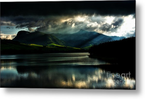 Evening Prayer Metal Print