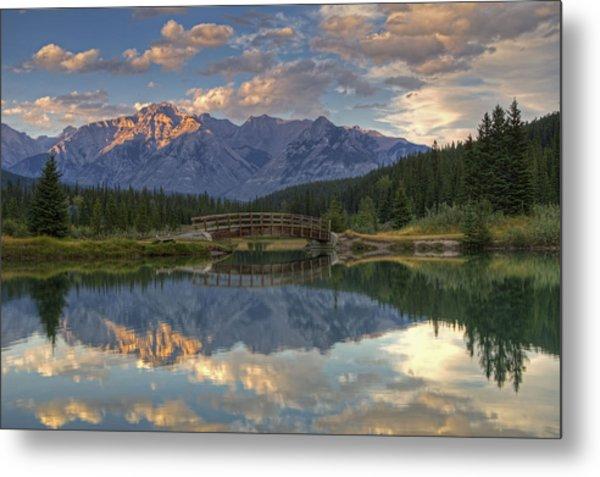 Evening Solitude At Cascade Ponds Metal Print