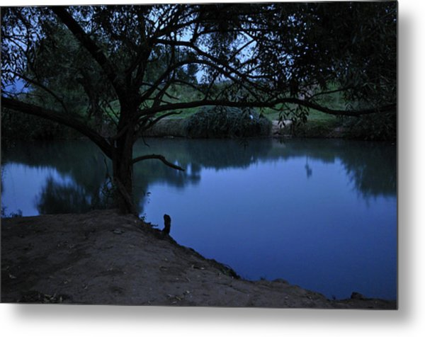 Evening Time At Kfar Blum Metal Print