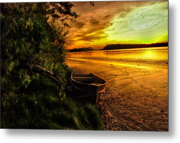 Evening Tranquility Metal Print