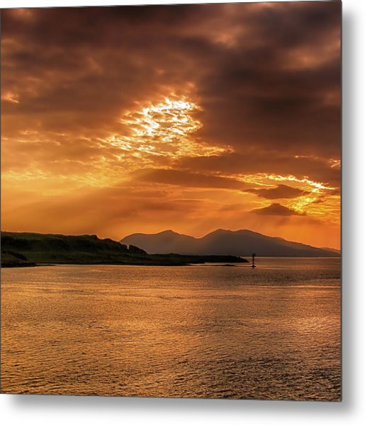 Evenings End Metal Print