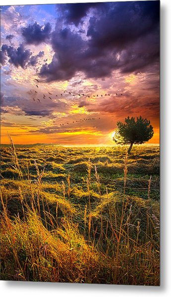 Every Story Has A Beginning Metal Print