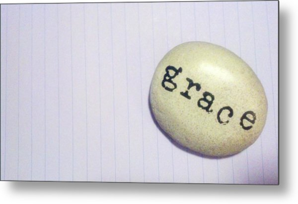 Everyday Grace Metal Print by Beth Burns