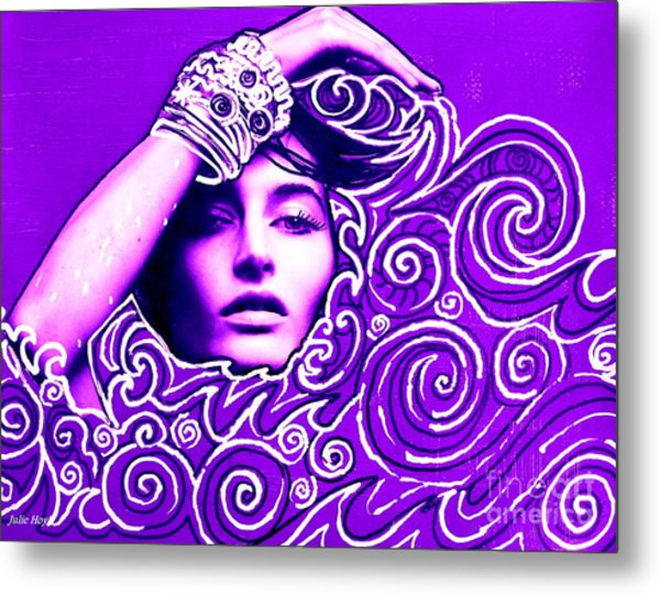 Everywhere You Look You See Yourself Metal Print