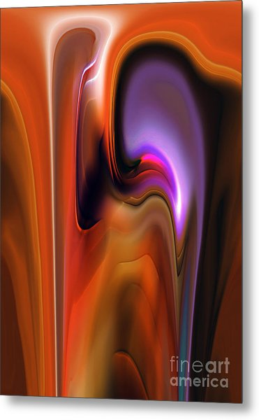 Exchange Metal Print by Christian Simonian