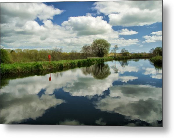 Exeter Canal Metal Print