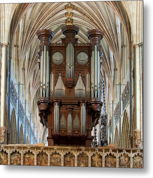 Exeter's King Of Instruments Metal Print