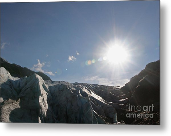 Exit Glacier Metal Print by Russell Christie