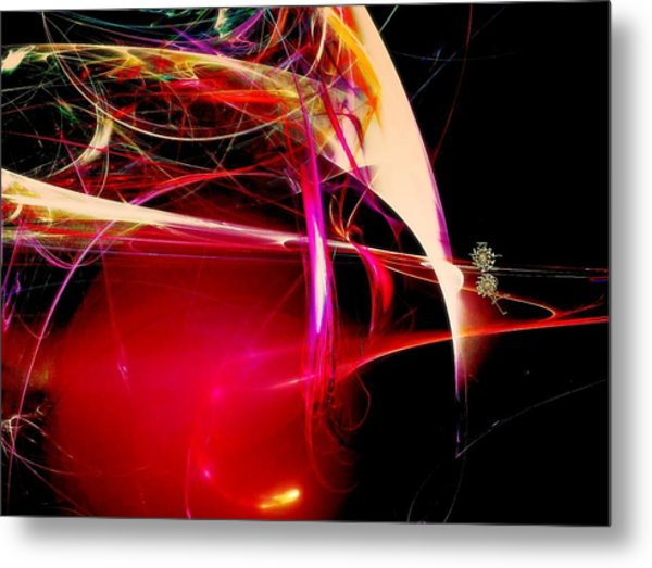 Exotic New Worlds Metal Print