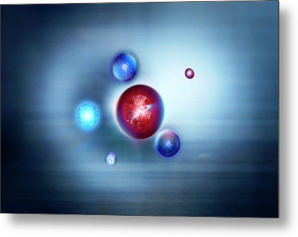 Exotic Particles Metal Print by Richard Kail