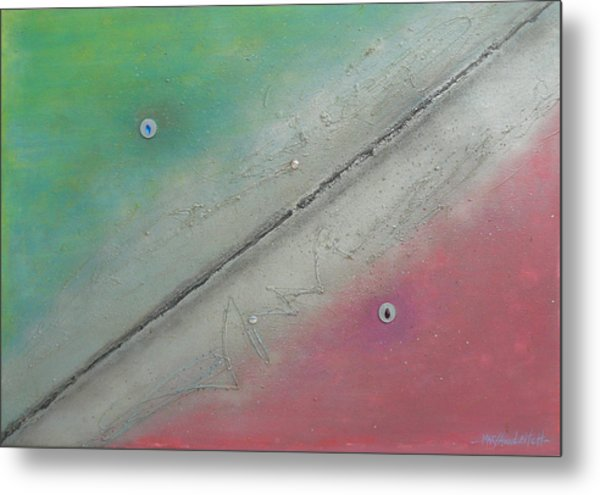 Exploration A Metal Print by Mary Ann  Leitch