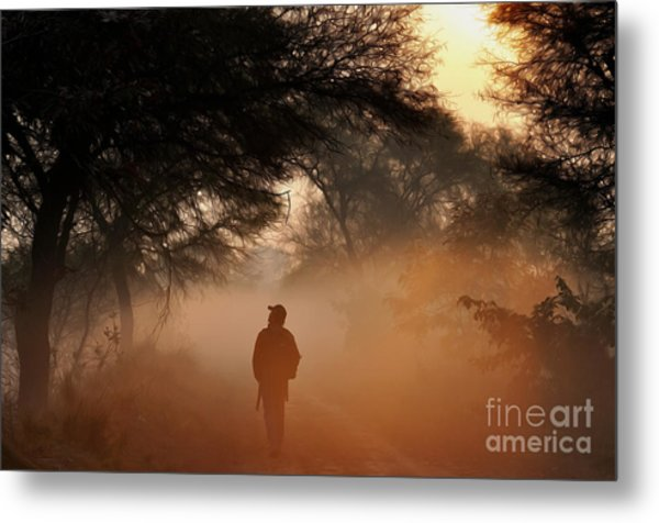 Explorer The Nature Metal Print
