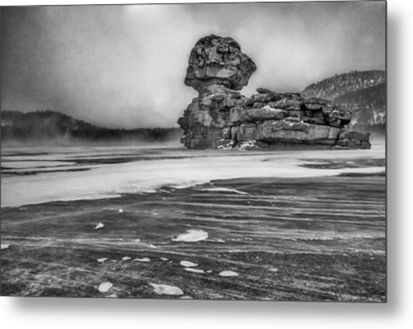 Exposed To Wind And Weather Metal Print
