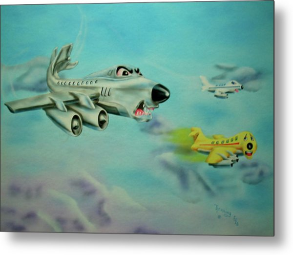 Extreme Airline Mergers Metal Print
